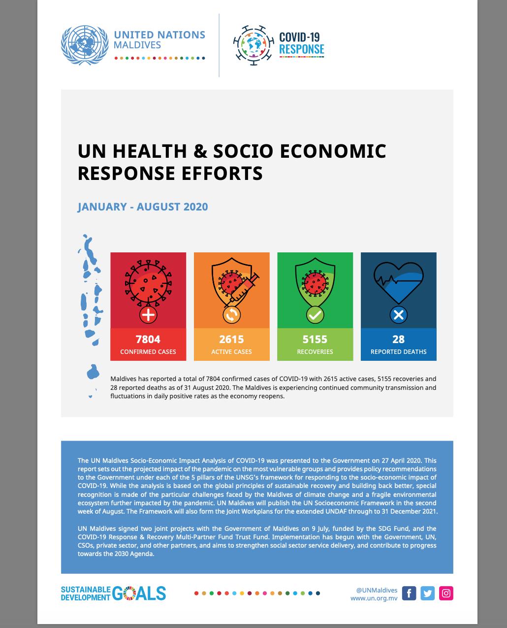 UN Health & Socio Economic Response Efforts
