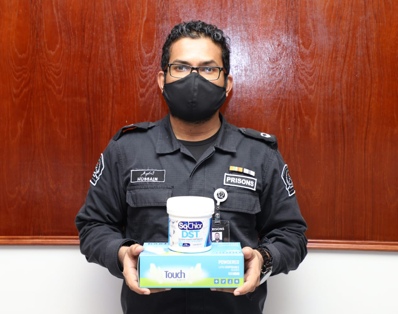 COVID-19 and The Maldives: Enhancing infection control measures in prisons to Leave No One Behind