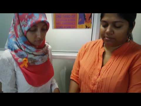 Mannequin challenge for 16days of activism at UN in Maldives